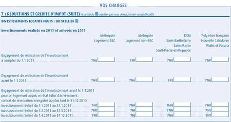 Formulaire Credit D Impot 2015 Investissement Scellier Ou Duflot Aide 224 La D 233 Claration Netinvestissement