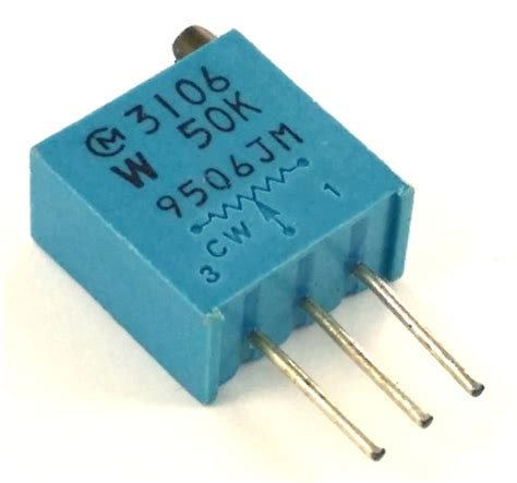 where to find 50k resistor 50k ohm trimpot variable resistor pot3106w 1 503 3106w 1 503 west florida components