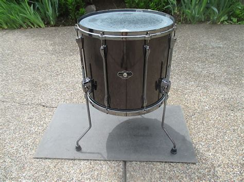 10 X 14 Floor Tom - tama superstar 16 x 14 floor tom hairline black metallic