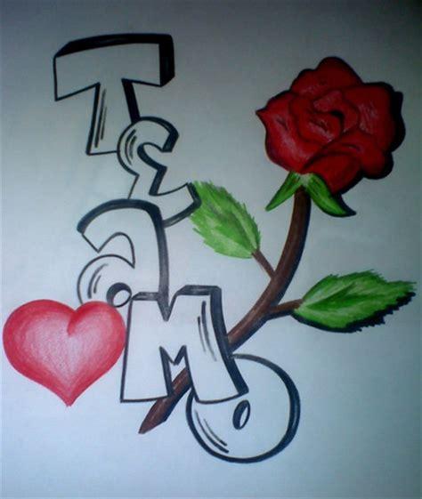 imagenes que digan karen te amo graffiti que diga te amo imagui