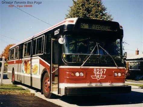 toronto trolleys and buses on ttc toronto flyer d800 trolleys etc