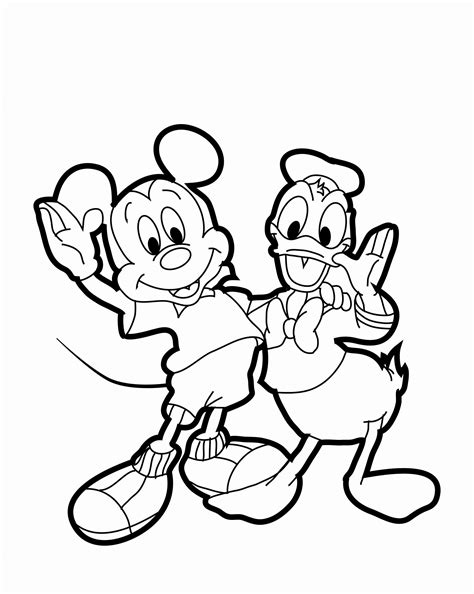 mickey mouse and donald duck coloring pages mickey mouse coloring pages 20 free psd ai vector eps