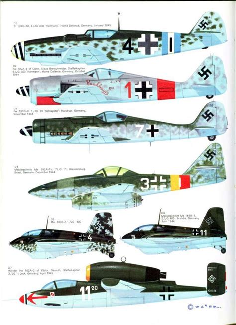 luftwaffe in colour volume 1612004555 255 best images about marking focke wulf fw 190 on