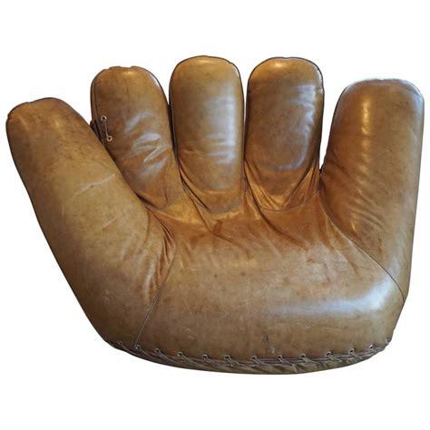 quot joe quot baseball glove lounge chair at 1stdibs