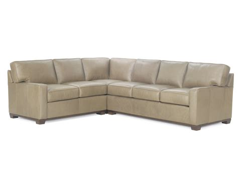 chadwick leather sofa high quality leather sectional american made wellington s