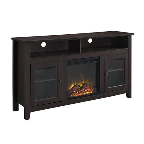 Walker Awnings Reviews Walker Edison 58 Quot Wood Fireplace Tv Stand In Espresso