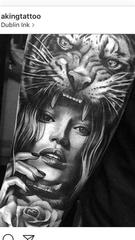 tiger tattoo for girl tiger tattoos tiger
