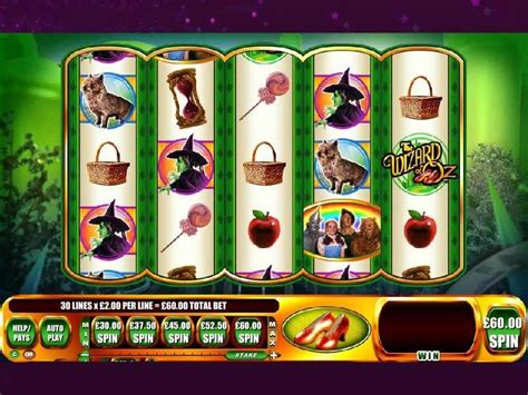 wizard  oz ruby slippers slot machine game  play