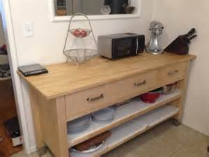 ikea butcher block kitchen island