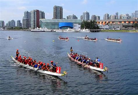 dragon boat racing vancouver north america s largest dragon boat festival comes to