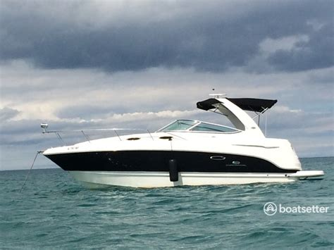 renting boats in chicago lake michigan rent a 2006 31 ft chaparral boats 280 signature in