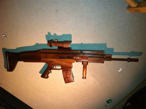 How To Make A L Out Of Wood by Makes Wood Scar L In Shop Class Is Awesome The About Guns