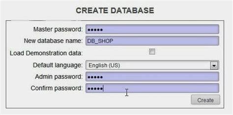 design database adalah konfigurasi database pada open erp hazna tutorial