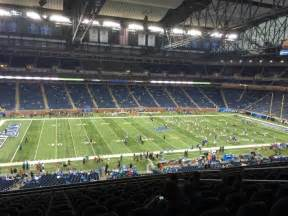 ford field sections ford field section 204 row 14 seat 10 detroit lions