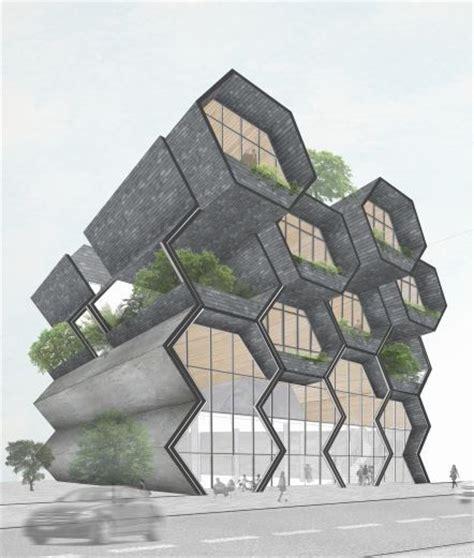 design concept hexagon 25 best ideas about perspective architecture on pinterest