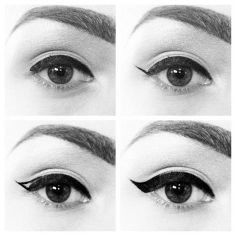 tutorial eyeliner style top 7 best eyeliner styles shapes to make eyes bigger