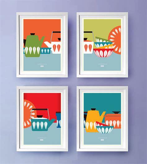 Etsy Kitchen Prints by Kitchen Wall Cathrineholm Kitchen D 233 Cor By Visualphilosophy