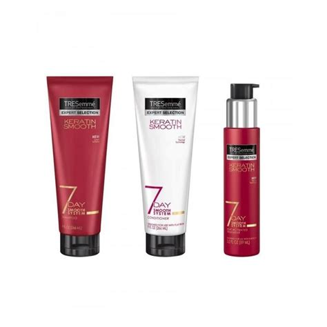 tresemme 7 day keratin heat activated treatment review tresemme keratin 7 day smooth system shoo 250ml