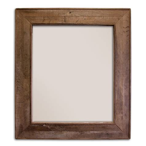 reclaimed wood mirror chardonnay 29 inch weathered oak rectangular mirror mr131