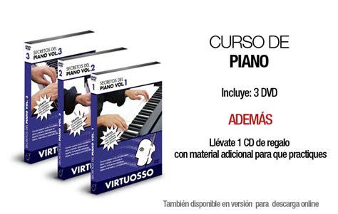 curso completo de piano 8434209551 aprende piano cl 225 sico con dvd s virtuosso bs f 500 soym1 precio d venezuela