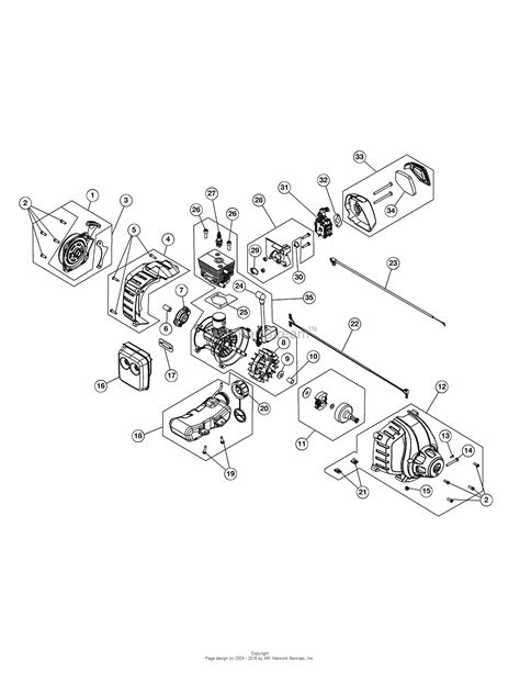 craftsman leaf blower parts wiring diagrams repair