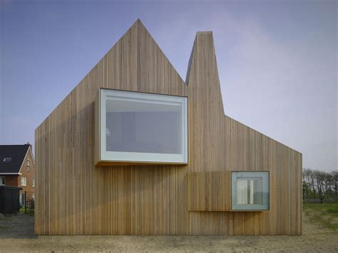 A Gable Roof Has Innovative Creation Of Modern House Design From Gable Roof