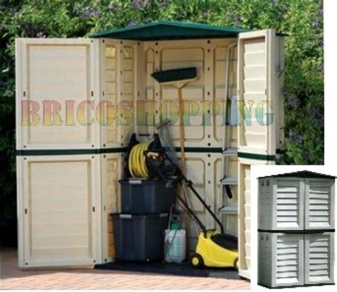 ricovero attrezzi giardino box ricovero porta attrezzi giardino resina per esterno