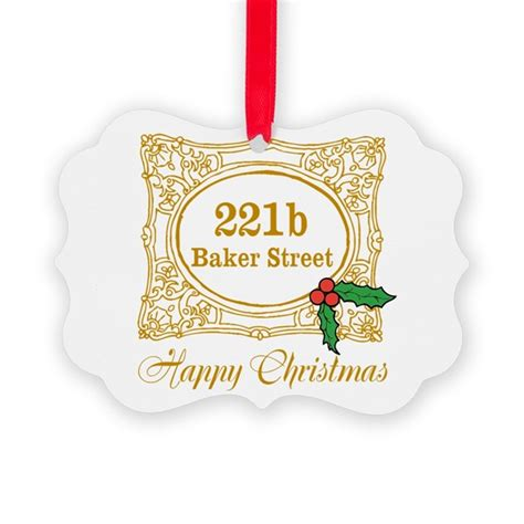 baker street christmas ornament by christmasfun2