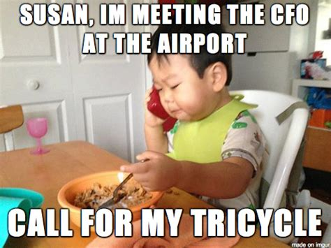 Asian Baby Meme - asian baby goes viral with business baby meme absolutely