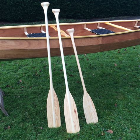 wooden boat paddle wooden paddles wooden canoes handmade in norfolk