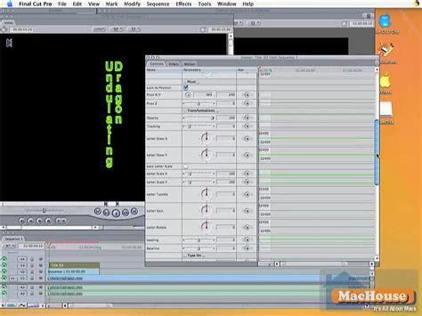 final cut pro basics final cut pro basic techniques series 11 mac only