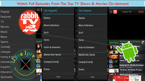 rabbit tv apk rabbit tv plus apk for on demand and tv shows on android live iptv x