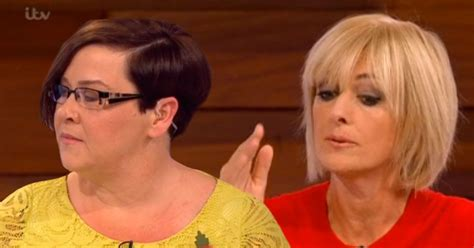 jane moores new hairstyle 2015 loose women s jane moore appears to blank white dee as