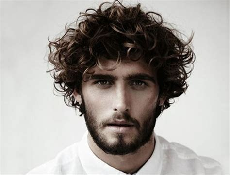 Mens Cuts Wavy Hair Make Face Look Thinner | 55 men s curly hairstyle ideas photos inspirations