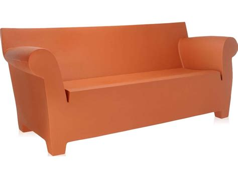 bubble couch kartell bubble club terracotta sofa kar605064