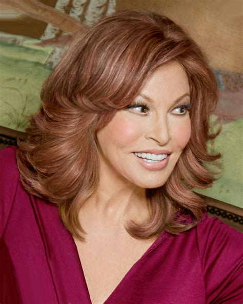 raquel welch hair color abc wigs indulgence top of head monofilament human