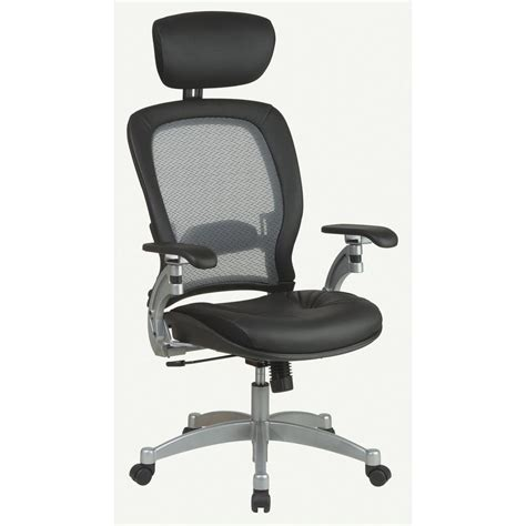 space seating space seating gray airgrid back office chair 36806 the