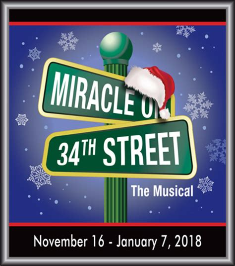 miracle on 34 miracle on 34th toby s dinner theatre