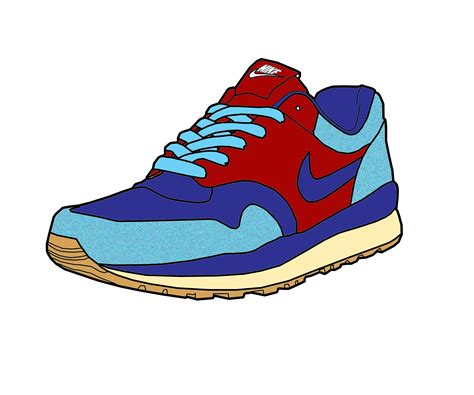 Photo Collection Nike Shoe Vector By