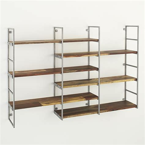 A Shelf by Rubix Shelf Crate And Barrel