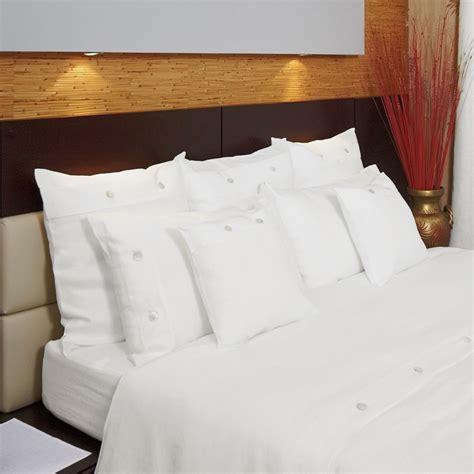federe cuscini letto copripiumino in lino madreperla bianco panna cuore di lino
