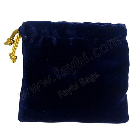 Velvet Pouch Faybi Bags Co.,Limited