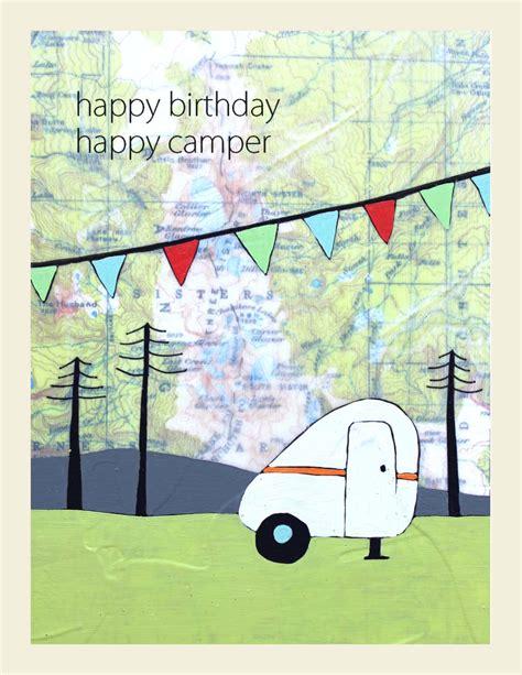 Motorhome Birthday Cards Happy Birthday Cer Map Card Happy Cer Birthday