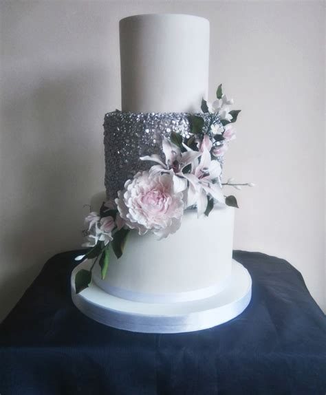 Wedding Cake Tiers by 3 Tier Wedding Cakes Classic Cakes Sugar Flowers