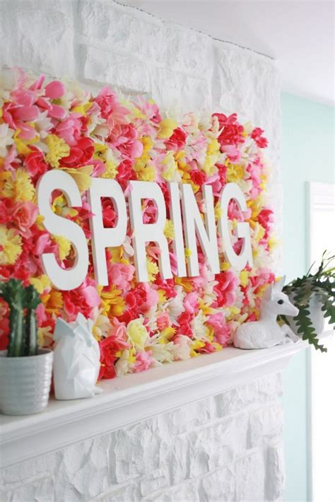 spring diys adorable diy spring wall decor that you have to see