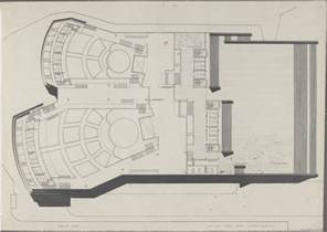 White House Layout Floor Plan sydney opera house utzon drawings state records nsw