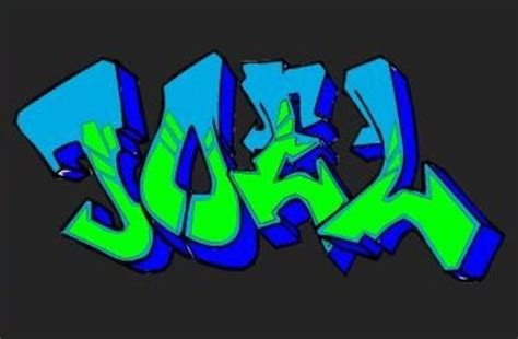 imagenes locas con el nombre joel nombre joel en graffiti imagui