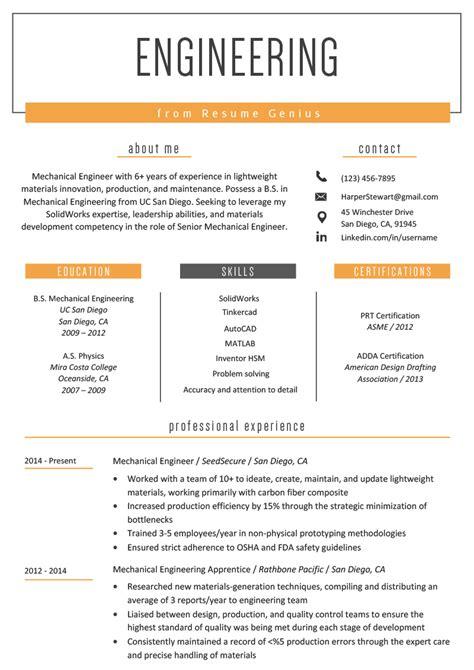 Civil Engineer Resume Summary