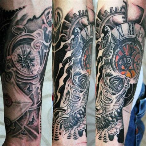 add on tattoos designs 80 clock designs for timeless ink ideas