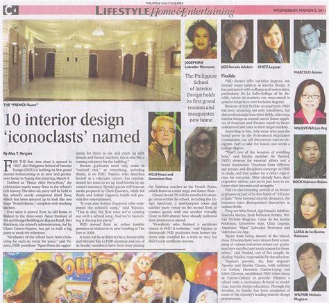 philippine daily inquirer adefuin design studio design